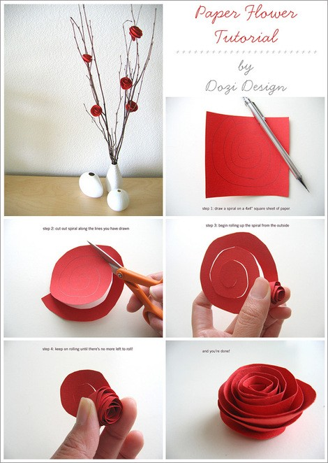 paper flower bouquet, rose, tutorial, flower, diy, project, summer camp, gift, wreath, paper, quick, easy, craft